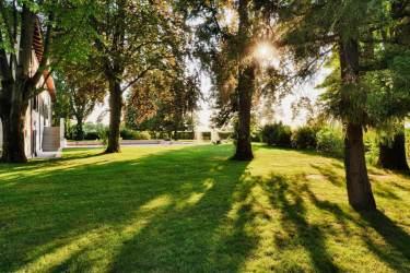 Il giardino di Borgo dei Conti della Torre