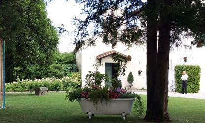 Giardino esterno alla cappella