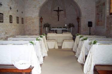 Cappella allestita